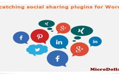 social sharing plugins for WordPress